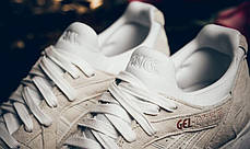 Женские кроссовки Asics Gel Lyte V Rose Gold Pack White H600L 0101, Асикс Гель Лайт 5, фото 3