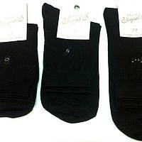 """Мужские носки """"Elegant """",х/б,махровый след,размер 25,черные"""