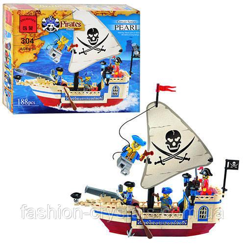 Детский конструктор Пиратский корабль