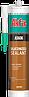 Силиконизированный акриловый герметик Akfix AS606 коричневая (310мл)