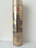 Лак для волос Wellaflex Extra Stark 250 мл. (Велла Длительная фиксация №4 Австрия )