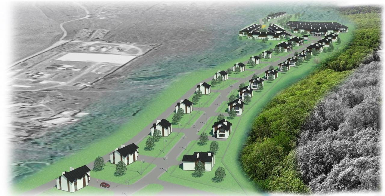 Индивидуальное проектирование коттеджных поселков, коттеджных городков