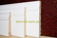 Плинтус деревянный белый ТИП 24* 135*20мм Под заказ, фото 1
