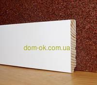 Плинтус деревянный белый высокий ТИП 25* 100*16мм, фото 1