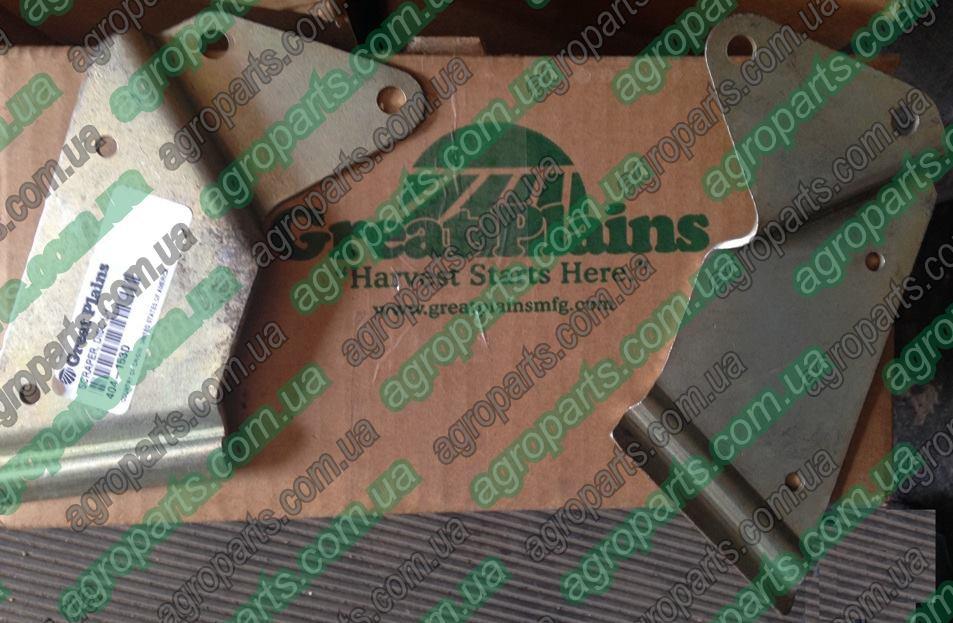 Чистик 404-153D диска сошника 404153D Great Plains YP & PD 404-152 SCRAPER, DISC 404-153d