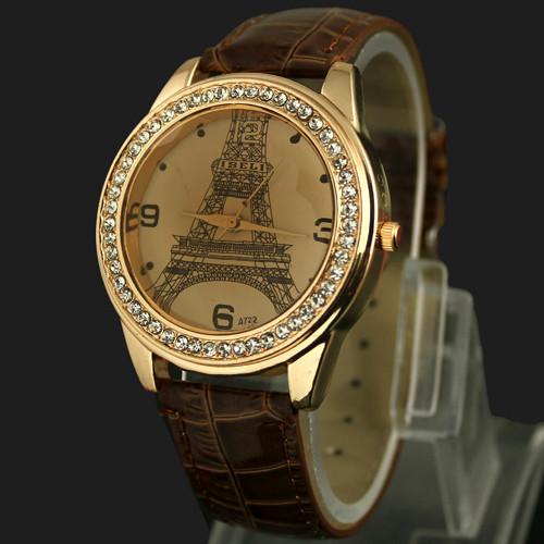 Часы женские наручные Париж Paris brown (коричневый)