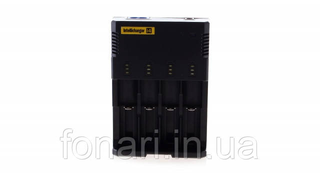 Nitecore Intellicharger i4 V2 - Зарядное устройство  для Li-Ion/Ni-Mh (Оригинал)