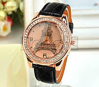 Часы женские наручные Париж Paris black (черный)