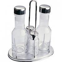 Набор для специй, 4 предмета (соль, перец, масло, уксус) 4156660