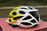 Велосипедный шлем Slanigiro yelow, фото 2