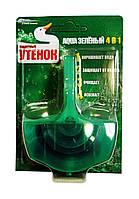 Подвесной очиститель унитаза Туалетный утенок Aqua Зеленый 4 в 1