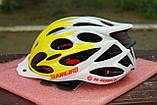 Велосипедный шлем Slanigiro yelow, фото 3