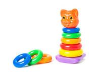 Пирамидка-качалка кошка