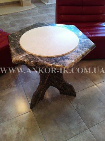 Столы из мрамора и гранита
