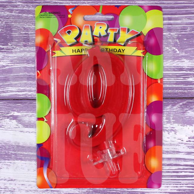 Свеча-цифра 9 для торта