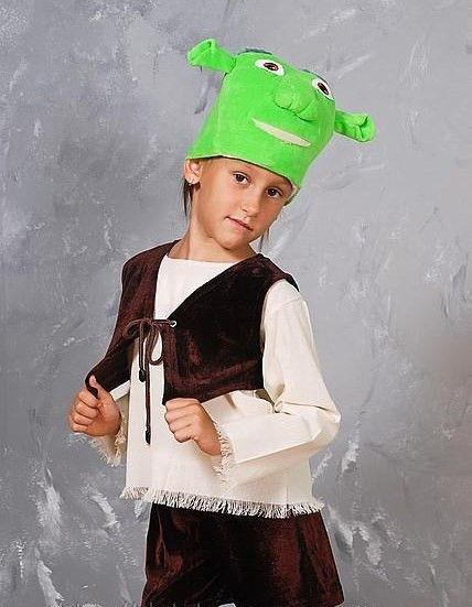 """Детский карнавальный костюм """"Шрек"""""""