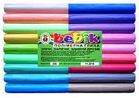 """Полимерная глина 18 цветов пастель """"Бебик"""