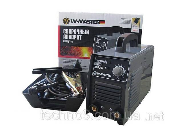 Сварочный инверторный аппарат WMaster MMA251, фото 2