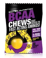 BCAA Chews 30 таб Scitec Nutrition (Жевательные таблетки ВСАА) Вкус Яблоко