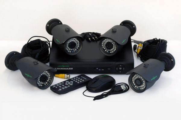 Готові комплекти систем відеоспостереження
