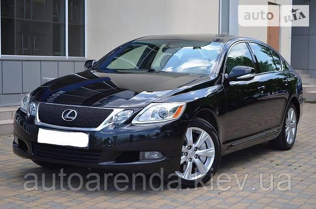 Оренда Lexus GS 350
