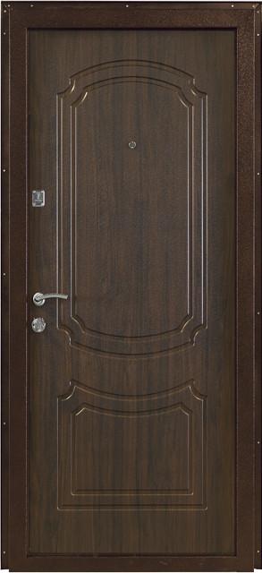 """Входная дверь металлическая """"Винорит орех коньячный"""", ПО-01 - фото 5"""