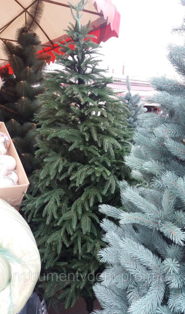 """Ель искусственная литая """"Смерека зеленая"""" (2,1 м)"""