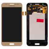 Дисплей (LCD) Samsung J500H Galaxy J5/ J500F/ J500M with touchscreen gold