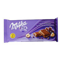 "Шоколад ""Milka"" 100 г орех-изюм"