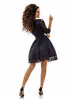 Женское Платье кружево с подъюбником
