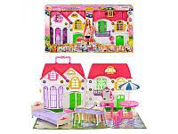 Домик 3151 (5шт) для куклы, 29 дет, мебель,разм домика 39-33-14см,в кор-ке, 68-35-9см