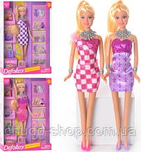 Кукла 8233 (24шт) сумочка 2шт, обувь, аксессуары, 2 вида, в кор-ке, 32-22-5,5см