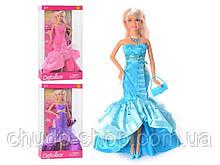 Кукла 8240 (24шт) сумочка, 3 цвета, в кор-ке, 33-18-5,5см