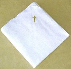 Крыжма для крещения 110х150 махровая