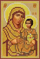 Схема для вышивки бисером Икона Пресвятой Богородицы, именуемой Иерусалимская