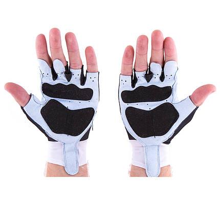 Перчатки для фитнеса CrownFit Lycra+Amara RX-07, фото 2