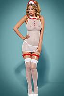 Игровой костюм медсестры Obsessive Caregirl Костюм медсестры