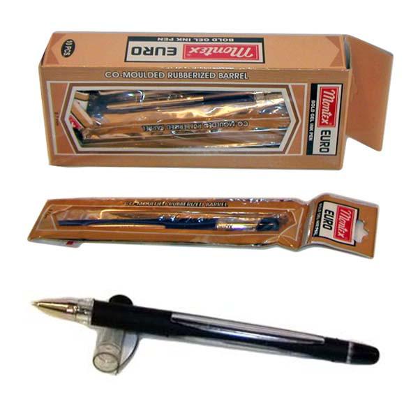 Ручка MONTEX EURO GEL черный