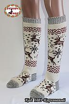 Женские шерстяные гольфы Зима , фото 2