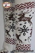 Женские шерстяные гольфы Зима , фото 3