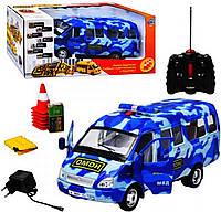 JT Газель 9129-4 (8шт) р/у, Омон-микроавтобус, аккум, в кор-ке, 46-21-20см