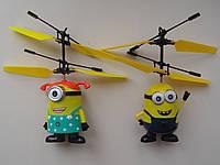 Миньён летающий,миньон,пульт ДУ (подарок для ребенка)