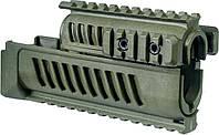 Цевье FAB Defense AK-47 полимерное для АК47/74 оливковый