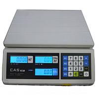Весы торговые CAS ER-JR CB  (RS-232)