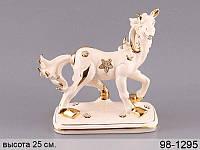 Статуэтка Конь 26 см фарфор 98-1295