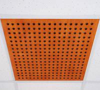 Перфорированная акустическая плита для потолочных систем