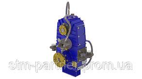 Сплит вал (Split shaft) отбора мощности c гидравлическим выходом  для многотонажной спецтехники вертикальный