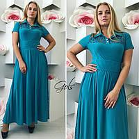 Женское платье нарядное батал