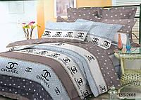 Двуспальный комплект постельного белья CHANEL