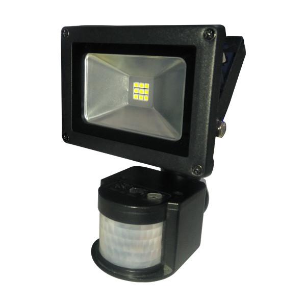 Прожектор светодиодный LITEJET-10W 6500 smd с датчиком движения